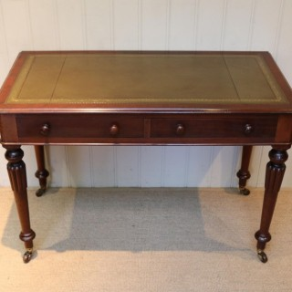 19th Century Mahogany Writing Desk