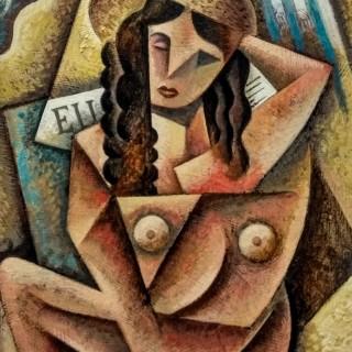 Mujer en la Playa 2