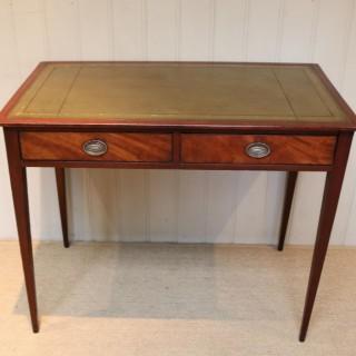 Mahogany Writing Table Desk