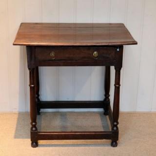 Early Georgian Oak Table