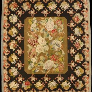 Exquisite English Needlework Carpet
