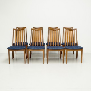 Set of 8 Mid Century G-Plan Dining Chairs