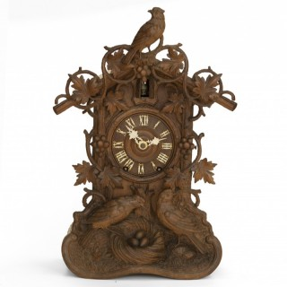 Beha Model 589 Fusee Cuckoo Clock