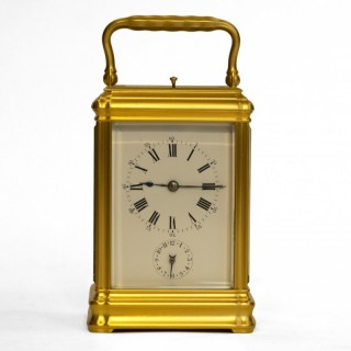 Drocourt for Leroy & Fils grande sonnerie Carriage Clock