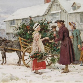 The Holly Seller