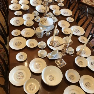Twelve Place  Limoges Dinner Service of 82 pieces