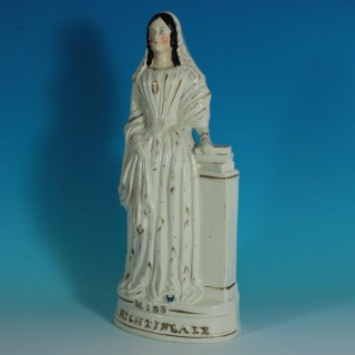 Staffordshire Pottery Miss Florence Nightingale Figure