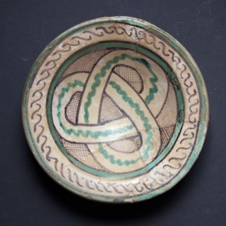Orvieto Majolica Bowl, 14th Century