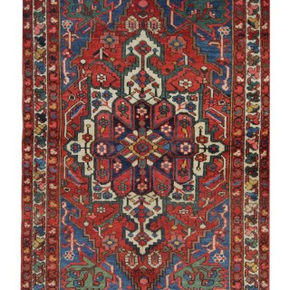 Antique Persian Bakhtiar Rug 136x196cm