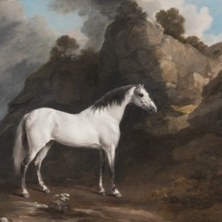 George Stubbs - Gregory's Grey Arabian, later Rycote Arabian