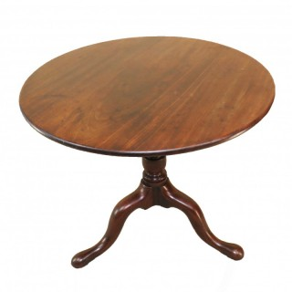 Georgian 18th Century Mahogany Tripod Table