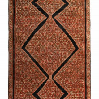 Antique Malayer Carpet 115x198cm