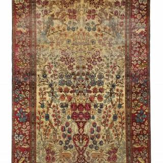 Fine Persian Kashan Rug 125x197cm