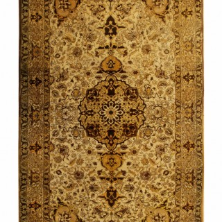 Antique Persian Isfahan Area Rug 176x279cm