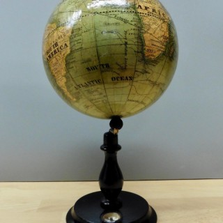 Miniature Celestial Table Globe with Compass
