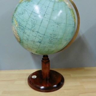 Edwardian Celestial Globe With Compass