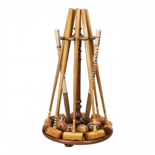 Antique Croquet Set For Eight By Asser & Sherwin