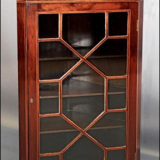 Georgian style Corner Cupboard
