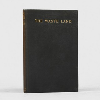 The Waste Land.  First edition in book form.