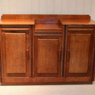 Early 20th Century Golden Oak Sideboard