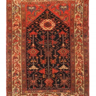 Traditional Caucasian Shirvan Area Rug 148x104cm