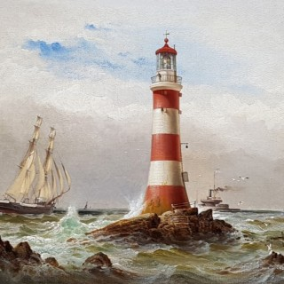 Sail and Steam off The Eddystone