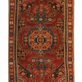 Antique Caucasian Shirvan Rug 184x105cm