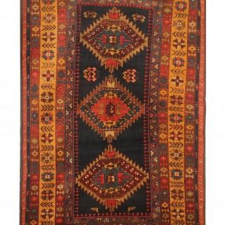Orange Antique Caucasian Kazak Rug 99x163cm