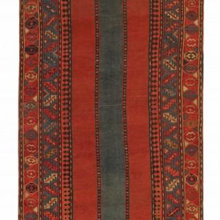 Antique Caucasian Kazak Rug 122x212cm