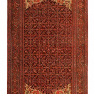 Antique Persian Malayer Rug 127x203cm