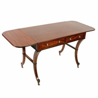 Fine Georgian Mahogany Sofa Table