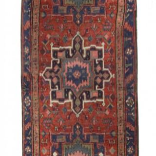 Antique Persian Karaje Runner Rug 97x405cm