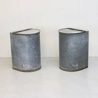 Zinc Grain Bins