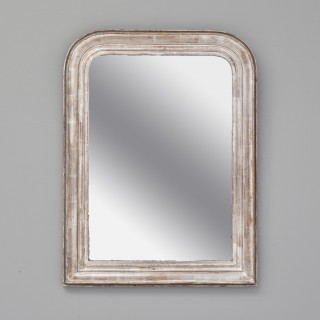 Silvered French Mirror