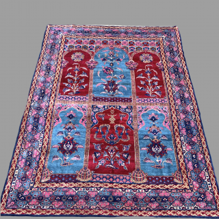 Antique Kashan Carpet 296 X 208 CM