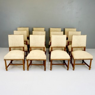 Set of 12 Dining Chairs