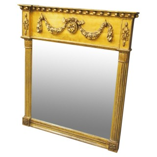George IV Carved and Gilded Pier Mirror