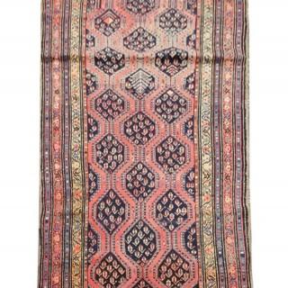 Antique Karabagh Runner Rug 230 x 107cm