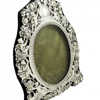 Antique Victorian Sterling Silver 9