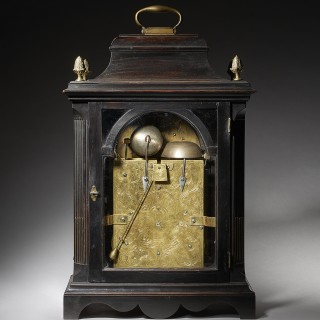 Extremely Rare George III 18th Century Quarter-Striking Bracket Clock, Signed