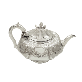 Antique Georgian Sterling Silver Teapot 1827