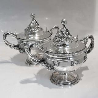 George III Silver Tureens