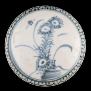 Chinese Ca Mau Shipwreck Pot & Lid