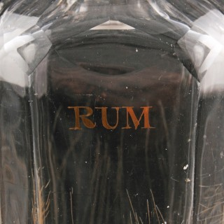 Early 19th Century Rum Decanter