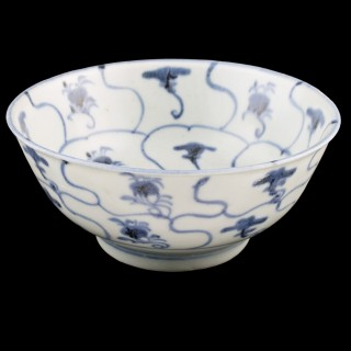 Chinese Tek Sing Cargo Rice Bowl
