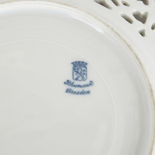 Collection of fourteen porcelain plates by various German makers