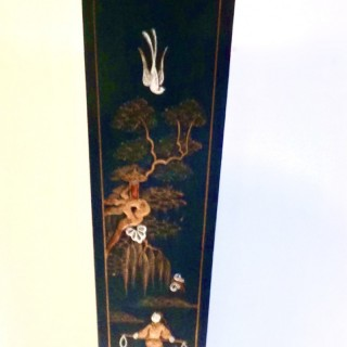 Art Deco Lacquer Clock