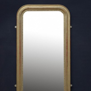 Louis Philippe Design Giltwood Pier Mirror