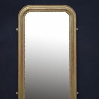 Louis Philippe Design Giltwood Pier Mirror