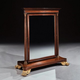 Large 19th Century French 2nd Empire Dressing Mirror